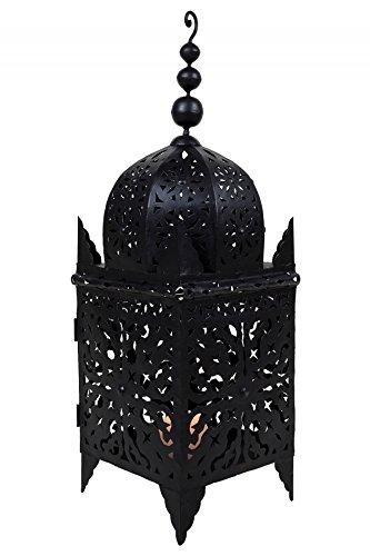 ORIGINAL orientalische marokkanische mediterrane marokko Laterne - Frane 80cm - Gartenlaterne Eisenlaterne Marrakesch