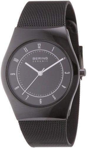 Bering Time - 32035-242 - Montre Mixte - Quartz Analogique - Bracelet Acier Inoxydable Noir