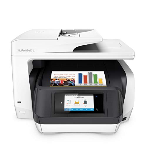 HP OfficeJet Pro 8720 Multifunktionsdrucker (Instant Ink, Drucker, Scanner, Kopierer, Fax, WLAN, LAN, NFC, Duplex, Airprint) -