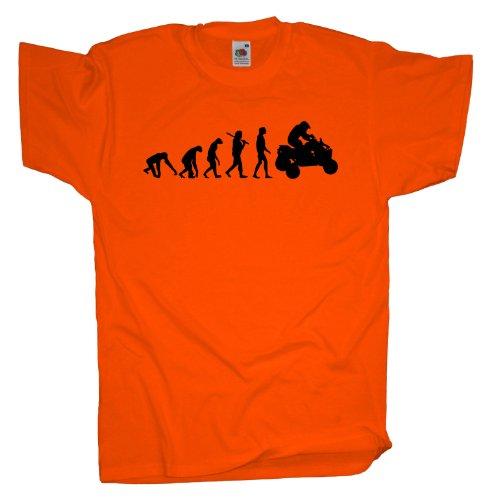 Ma2ca - Evolution - Quad T-Shirt Orange