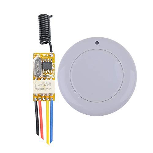 RF 1CH Mini Fernbedienung Schalter dc 3.7V 4.5V 5V 6V 9V 12V Universal Relais 433MHZ Sender Empfänger Momentanen Modul Schalter für Home Office Funk-gps-modul