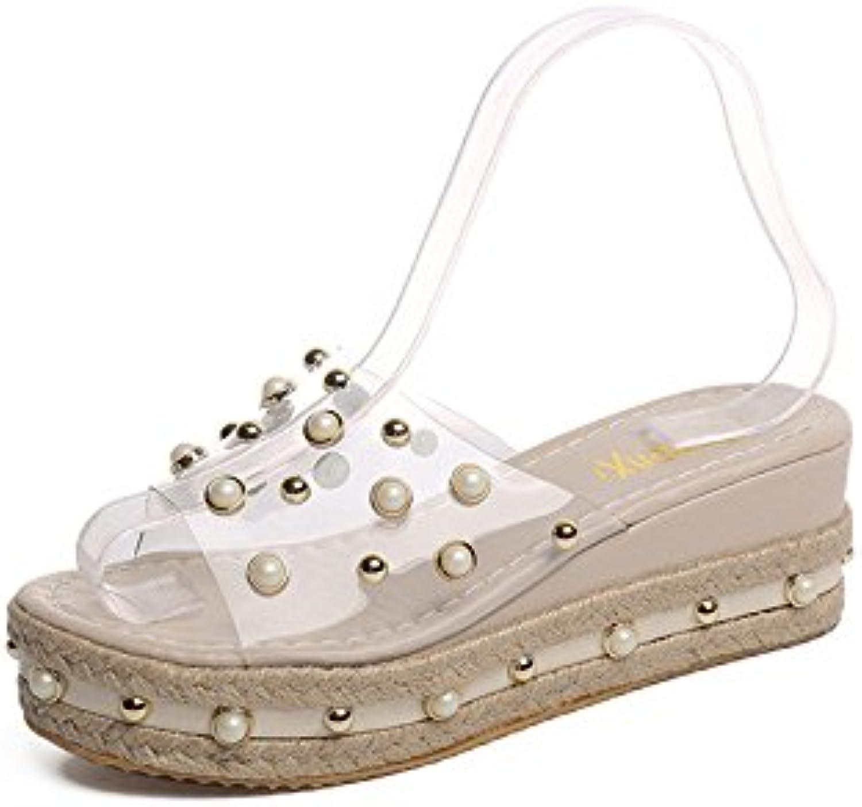Hugo Dale 10199302 01, Sandalias de Plataforma para Mujer -