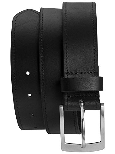 Harrys-Collection Tresorgürtel mit Reißverschluß, Farben:schwarz, Bundweite:110 - Reißverschluss Gürtel