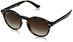 Ray-Ban Gradient Phantos Unisex Sunglasses - (0RJ9064S152/1344|44|Brown Gradient Color)
