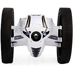 Teepao Jumping Sumo Robot, Sumo Saut Saut de télécommande Stunter 360° Rotation Batterie RC Rebondir de Voiture pour Enfants garçons 2,4GHz (Noir)
