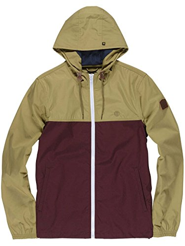 Element Jackets - Element Alder Light Jacket - Navy Heather/ Eclipse Navy canyon khaki napa red