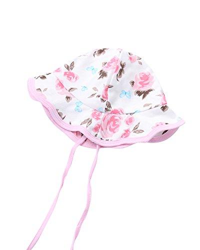Kidsform Baby Sun Hat Kids UV Protection Cotton Summer Beach Cap Flap Legionnaire Beach Caps Adjustable