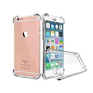 Plus Protective 1.0mm, Soft, Shockproof, Transparent, Hybrid, Protection Back Case Cover for Apple iPhone 7