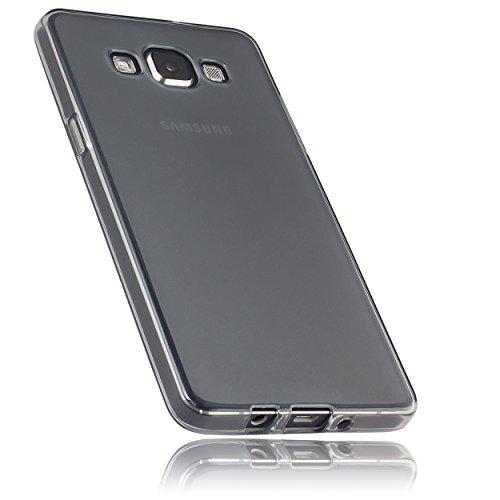 mumbi Schutzhülle für Samsung Galaxy A5 (2015) Hülle transparent schwarz