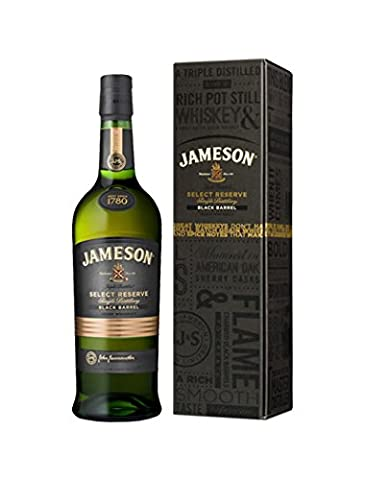 Jameson Select Reserve Black Barrel Small Batch Whisky In A Gift Box 70CL