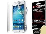 TECHGEAR-Pellicola Trasparente per Schermo LCD per Samsung Galaxy S4 Zoom, Confezione da 3 Pezzi