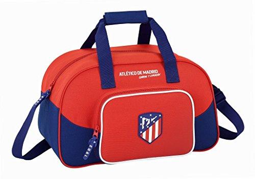 Safta Bolsa De Deporte Atlético De Madrid'Coraje' Oficial 400x230x240mm