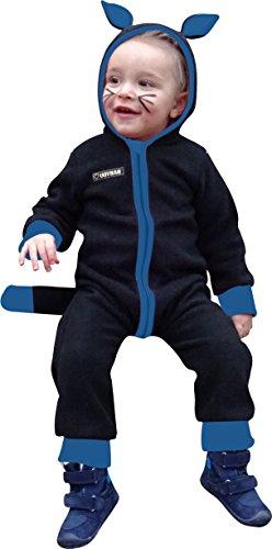 n Nähpaket Baby-/ Kinder- Kostüm als Fleeceoverall Gr. 56 - 98, Nicht nur für Fasching, Fasnet und Karneval (Kater) ()