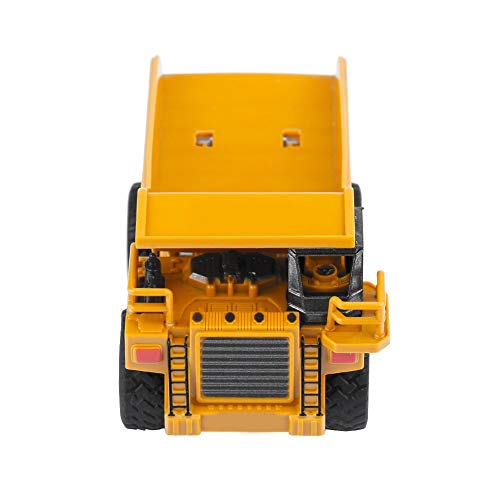 RC Auto kaufen Baufahrzeug Bild 3: Alomejor RC Bauwagen, Mini DIY Baufahrzeug RC Bagger Truck Bagger Kits Baustein Spielzeug(Kipper)*