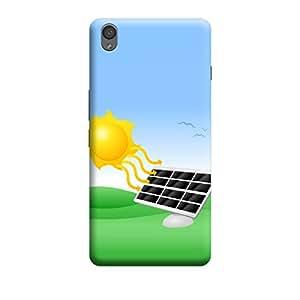 Qbic 3D High Quality Designer Mobile Back Case Cover For OnePlus X (Premium Matte Finishing Back Case)