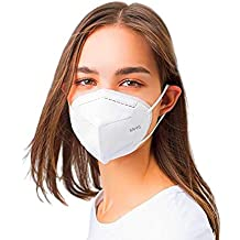 Mediweave Premium KN95 Mask Respirator, 5 layers ,CE certified, Pack of 5