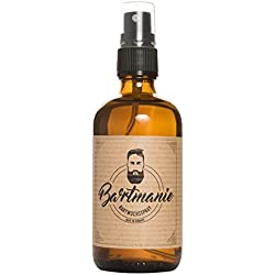 Bartmanie Bartspray zur Bartpflege und Förderung des Bartwuchses, Bartwuchsmittel für einen kräftigen und vollen Bart (100ml)
