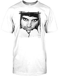 Mens t-shirt DTG Print - Freddie Mercury Queen - Pop Art - Music