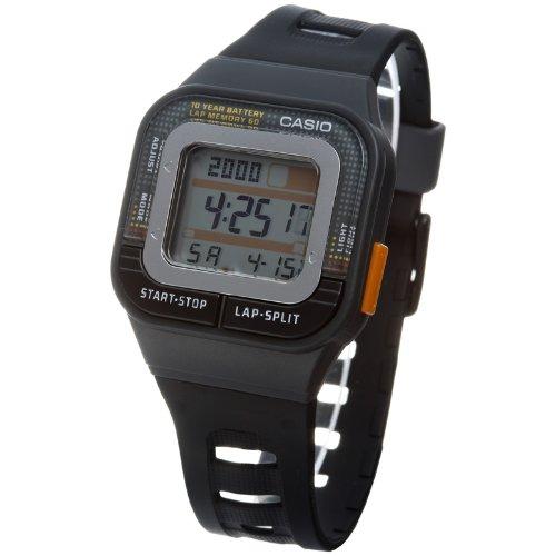 Casio - SDB-100-1A - Montre Mixte - Automatique - Digitale - Bracelet Résine Noir