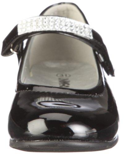 Indigo 424 046, Ballerines fille Noir-TR-C1-17