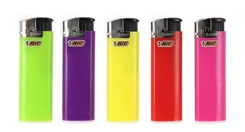 Feuerzeuge 5 Grosse Bic elektronischen Farb