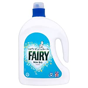 Fairy Non-Bio Laundry Liquid - 2.25L (Pack of 4 - 9L Total)