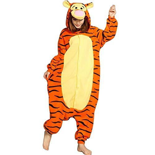 Unisex Cosplay Flanell Tier Onesie Kombination Pyjamas Frau Mann Weihnachtsfeier Outfit Overall Kostüm Wintermode Heiße Kostüm-Nachtwäsche Party-Overall Nachtwäsche ()