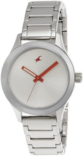 41ulmICNM4L - 6078SM02 Fastrack Monochrome Silver Women watch