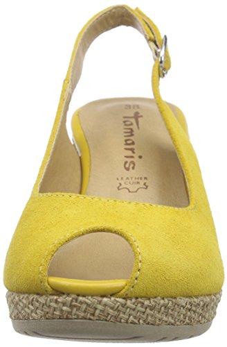 Tamaris Damen 28053 Slingback Gold (SUN 602)