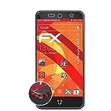 atFolix Schutzfolie passend für WileyFox Swift 2X Folie, entspiegelnde & Flexible FX Bildschirmschutzfolie (3X)