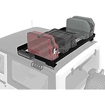 Jeep Wrangler JK Roof Rack (2 Door Half Cargo Rack) - Front Runner Slimline II Extreme