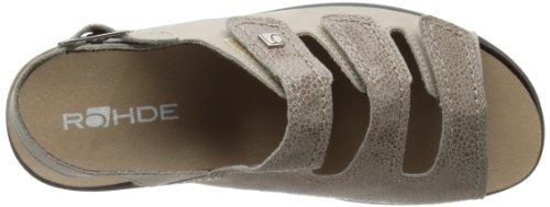 Donna Sandalo Rhode No. 1894-1818 grigio / size combinato marrone 37-43 grau