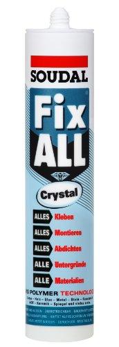 Crystal Drum (SOUDAL FIX All Crystal Dichtklebstoff Farbe Glasklar 83111104 290ml)