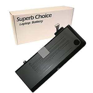Superb Choice - Batterie 6 cellules pour l'ordinateur portable Apple Macbook Pro 13.3 A1322 battery 020-6765-A 3ICP5/69/71-2