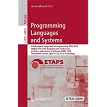 Programming Languages and Systems: 27th European Symposium on Programming, ESOP 2018, Held as Part of the European Joint Conferences on Theory and Greece, April 14-20, 2018, Proceedings