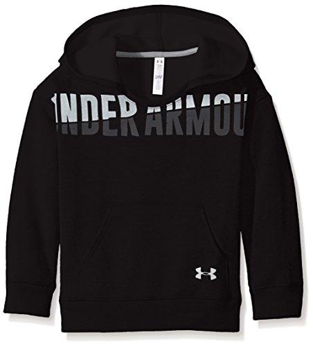 Under Armour Mädchen Favorite Fleece Hoody Fitness-Sweatshirts, Schwarz, L (Sweatshirt Tennis-mädchen)