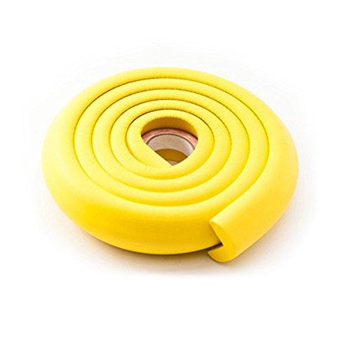 2 m Mehrzweck-Schaumstoff-Schutz-Set Jumbo Kanten- und Eckenschutz, Kindersicherung, Baby-Proofing Tisch, scharfe Kantenschutz, Möbelkantenschutz (Baby-proofing Scharfe Kanten)