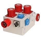 Einschaltautomatik 3Ph-400V/230V mit Umschaltung für Absaugung