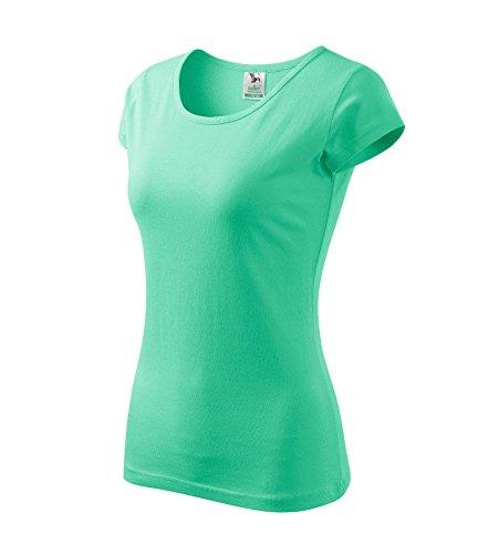 T-Shirt für Damen Ladies Shirt Pure - Größe und Farbe Wählbar- (XS, Mint)