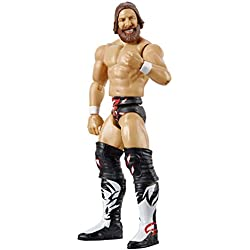 WWE- Daniel Bryan Personaggio in Scala Articolato, Costume da Combattimento, Giocattolo per Bambini 8+ Anni, 15 cm, GCB59
