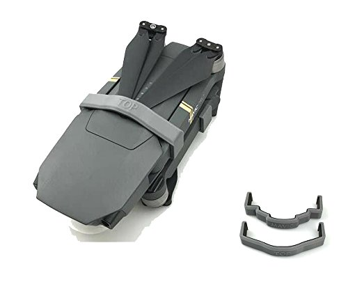 Preisvergleich Produktbild Kingwon Propeller Stabilisator Motorschutz Halter Controller Transport Clip für DJI Mavic Pro Reise Zubehör Grau