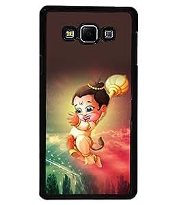 printtech Lord God Hanuman Small Cartoon Back Case Cover for Samsung Galaxy A7::Samsung Galaxy A7 A700F