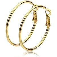 Mes-Bijoux-Bracelets Boucles d oreilles créole Doré or jaune 750 000 bb63ebd64674