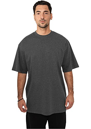 URBAN CLASSICS - Tall Tee (charcoal), Gr. XXXL (Tall Long Sleeve Tee)