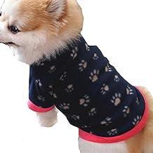 Sannysis Mascotas y Gatos Ropa de Abrigo Cachorro Ropa de Abrigo Ropa de Perro Camiseta de