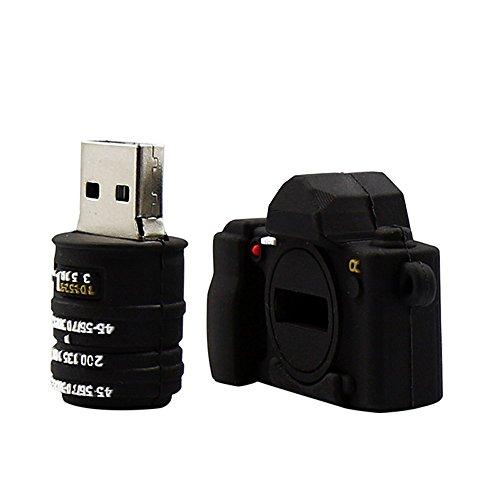 Forma shidaizhou fotocamera da 32gb chiavetta usb 2.0flash drive fumetto di memorizzazione dei dati usb memory stick pollice pendrive regalo
