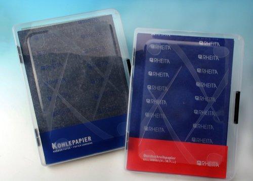 100 Blatt Kohlepapier in Mappe DIN A4