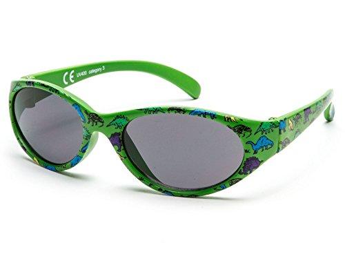 Sonnenbrille Little Kids JUNGE | 8 monate bis 2 Jahre | sehr komfortabel und sicher | 100% UV-Schutz und flexible Gummibeine. | ideales Geschenk für Kinder KI30513