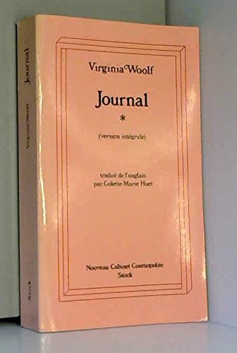 Journal. Tome 1