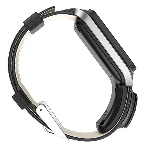 Golfuhr schwarz – TomTom Golfer GPS-Uhr, Lederarmband - 4